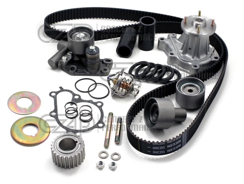 [DIAGRAM_38IU]  Nissan / Infiniti CZP OEM 120K Complete Timing Belt Kit - Nissan 300ZX Z32  13001-0XX12 T251 T251RB W0133-1621274 120 000 mile RB npw 13001-01E12  13001-02T12 13001-02N12 13001-03E12 gatT251 13028-45P86 gatT251RB  CZP-13070-45V04 13070-45V04   Infiniti Timing Belt      Concept Z Performance