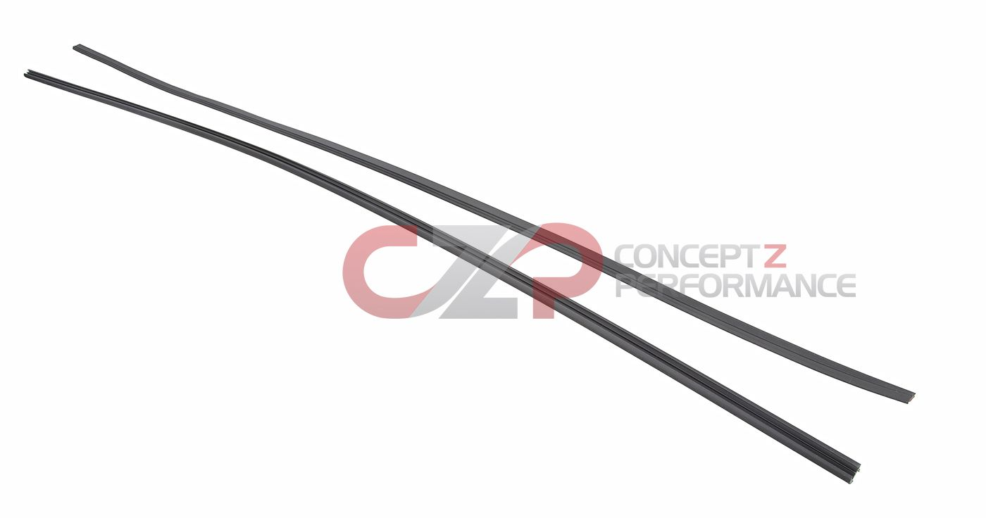 CZP OEM Replacement Windshield Upper Fastener and Front Windshield Upper Seal Weatherstrip Molding - Nissan 300ZX Z32