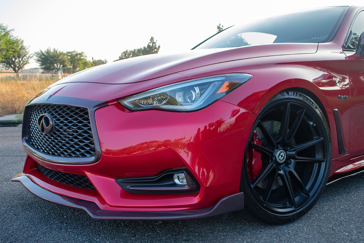 EMM Tuning Front Splitter - Infiniti Q60 17+ Coupe CV37