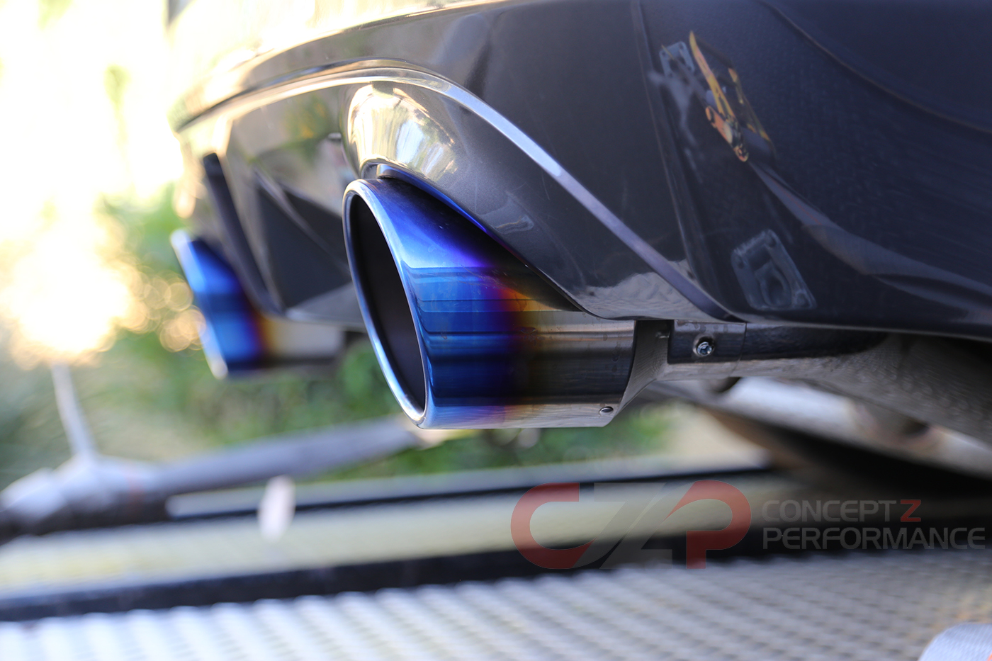 Motordyne Shockwave E370 Catback Exhaust System - Nissan 370Z Z34 MD-009 -  Concept Z Performance