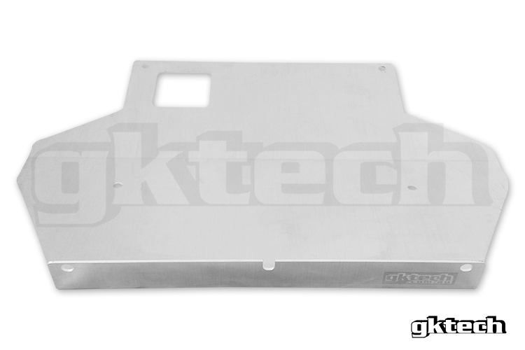 GKTech Under Engine Skid Plate - Nissan 240SX S13 S13X-BASH - Concept Z  Performance