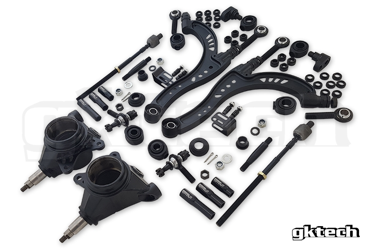 GKTech Z32/R Chassis Super Lock Combo - Nissan Skyline R32 R33 R34, 300ZX Z32