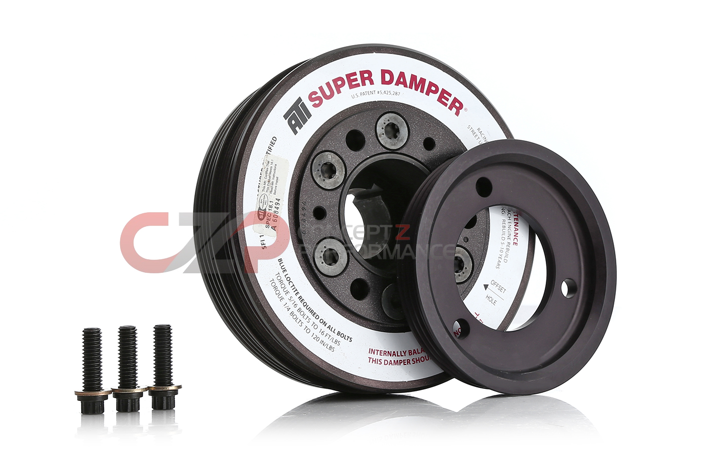 ATI 918582 Super Damper Racing Pulley - Nissan 240SX SR20DET