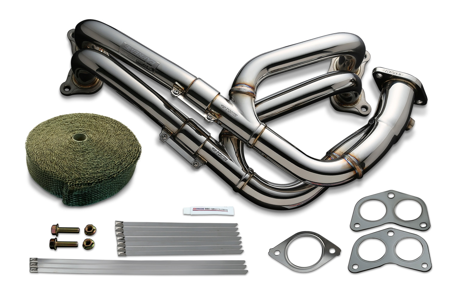 Tomei Exhaust Manifold Kit Expreme FA20 ZN6/ZC6 Equal Length with Titan Exhaust Bandage