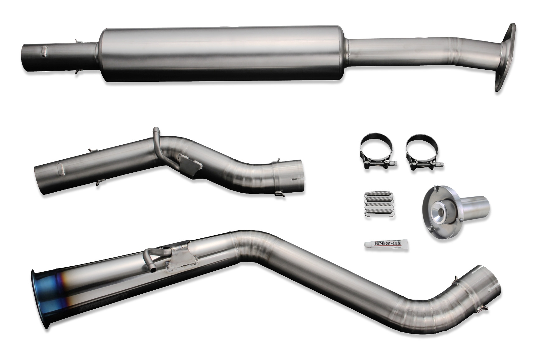 Tomei Expreme Ti Full Titanium Cat-Back Exhaust System, Type 60R - Scion  FR-S 13+, Subaru BRZ 13+, Toyota 86 17+ ZN6 / ZC6 TB6090-SB03B - Concept Z