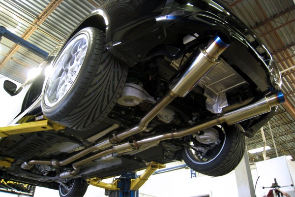 CV36 Exhaust System :: Exhaust Systems & Kits :: Cat-Back - Concept