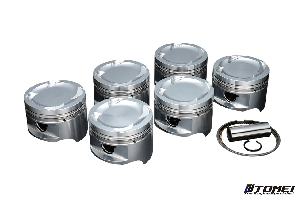 Tomei Forged Piston Kit 2JZ-GTE 3.6 87.00mm