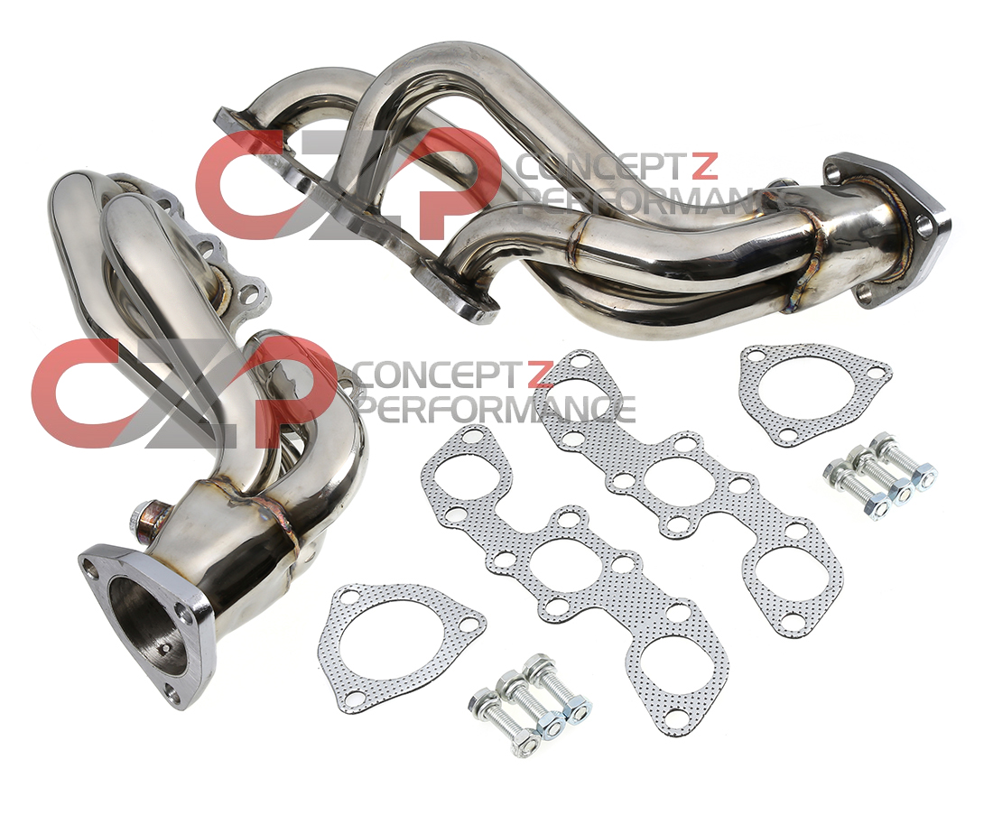 Manzo Stainless Steel Headers Non-Turbo NA, LHD Models Only - Nissan 300ZX Z32 - LIMITED STOCK AVAILABLE!!!