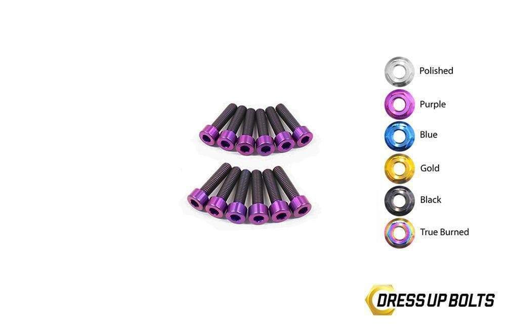 Dress Up Bolts NIS-054-TI Titanium Dress Up Kit, RB25 Coil Pack Cover - Nissan Skyline R33, R34