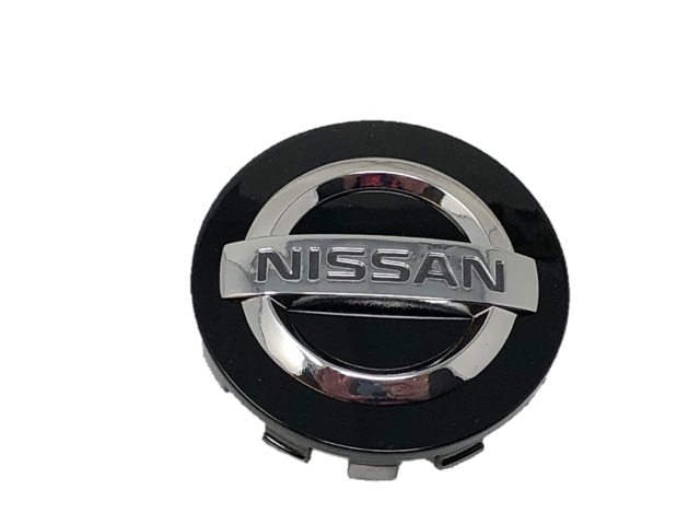 Nissan OEM Wheel Rim Center Cap Nismo / Black Edition, Glossy Black - Nissan 370Z GT-R