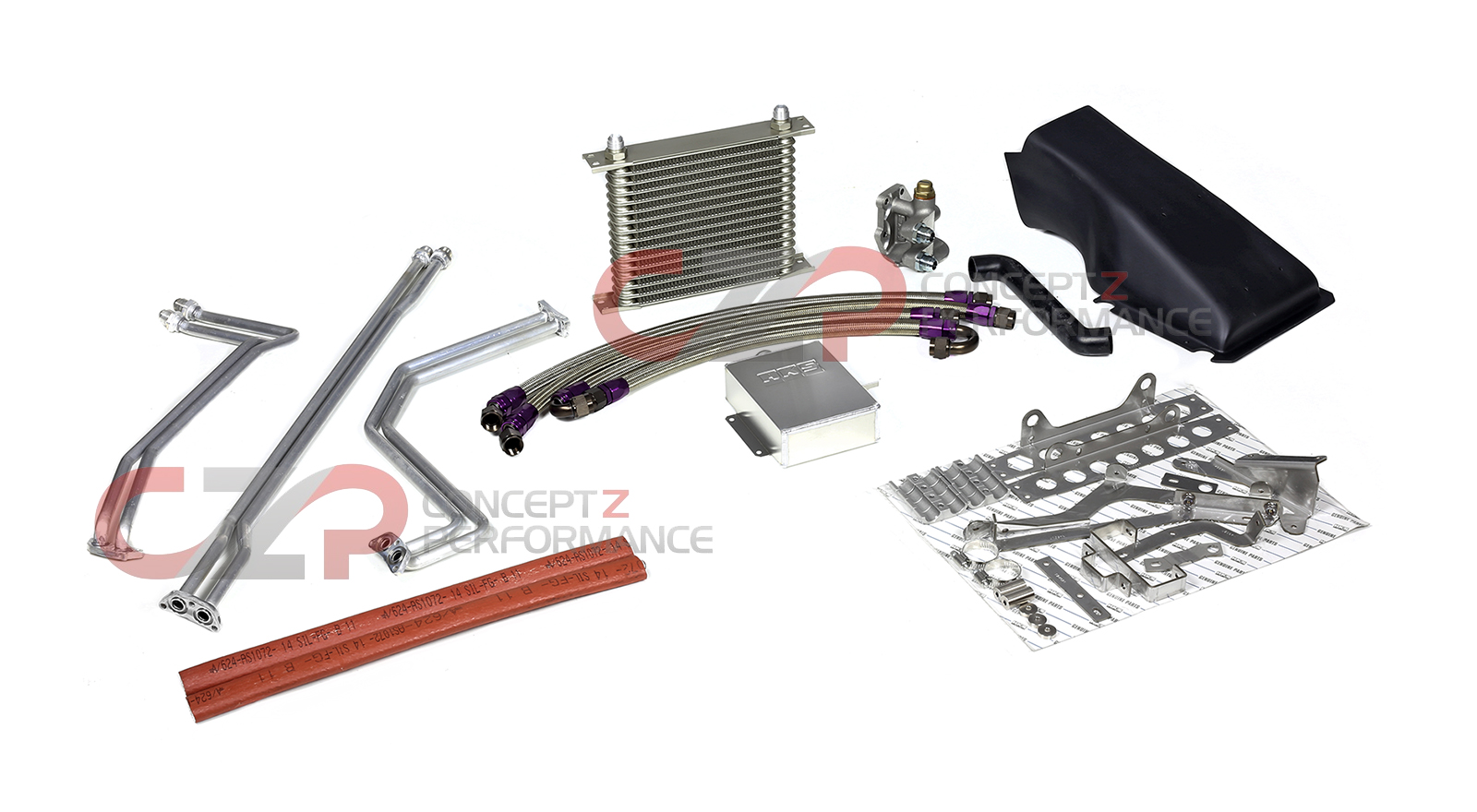 HKS 27002-AN002, 27002-AN004 GT-R Dual Clutch Transmission Cooler Kit