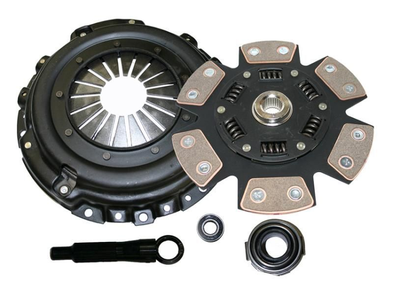 Competition Clutch 6 Puck Sprung Pad Ceramic Clutch Kit, Stage 4 SR20DET - Nissan 240SX Silvia S13 S14 S15