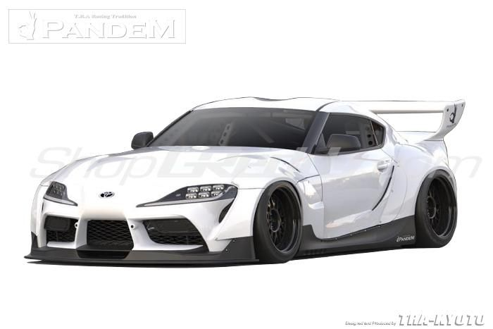 Greddy Pandem Aero V1 Full Wide Body Kit, FRP - Toyota Supra A90 -- PRE-ORDER!!