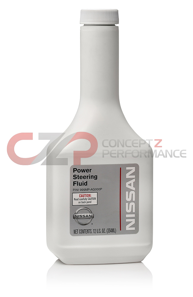 Nissan OEM Genuine Power Steering Fluid, 12 oz Bottle 999MPAG000P