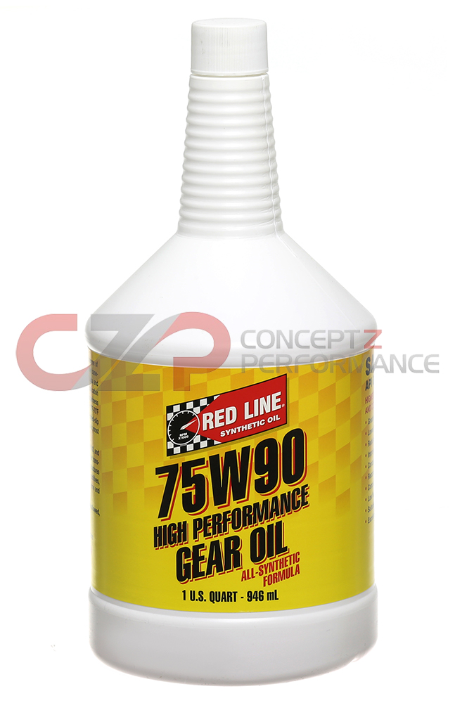 Red Line 75W90 GL5 Differential Fluid - Nissan 300ZX 350Z 370Z / Infiniti G35 G37 Q40 Q60