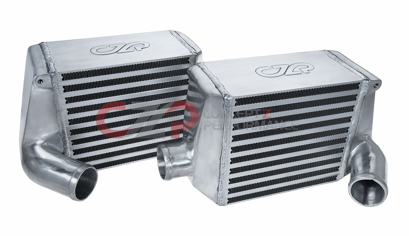 "CZP Side Mount Intercoolers, 2"" ARC-style Core - Nissan 300ZX Twin Turbo TT Z32"