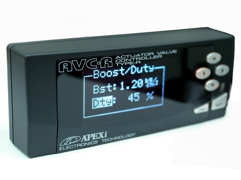 Apexi Super AVC-R Electronic Boost  Controller - Black