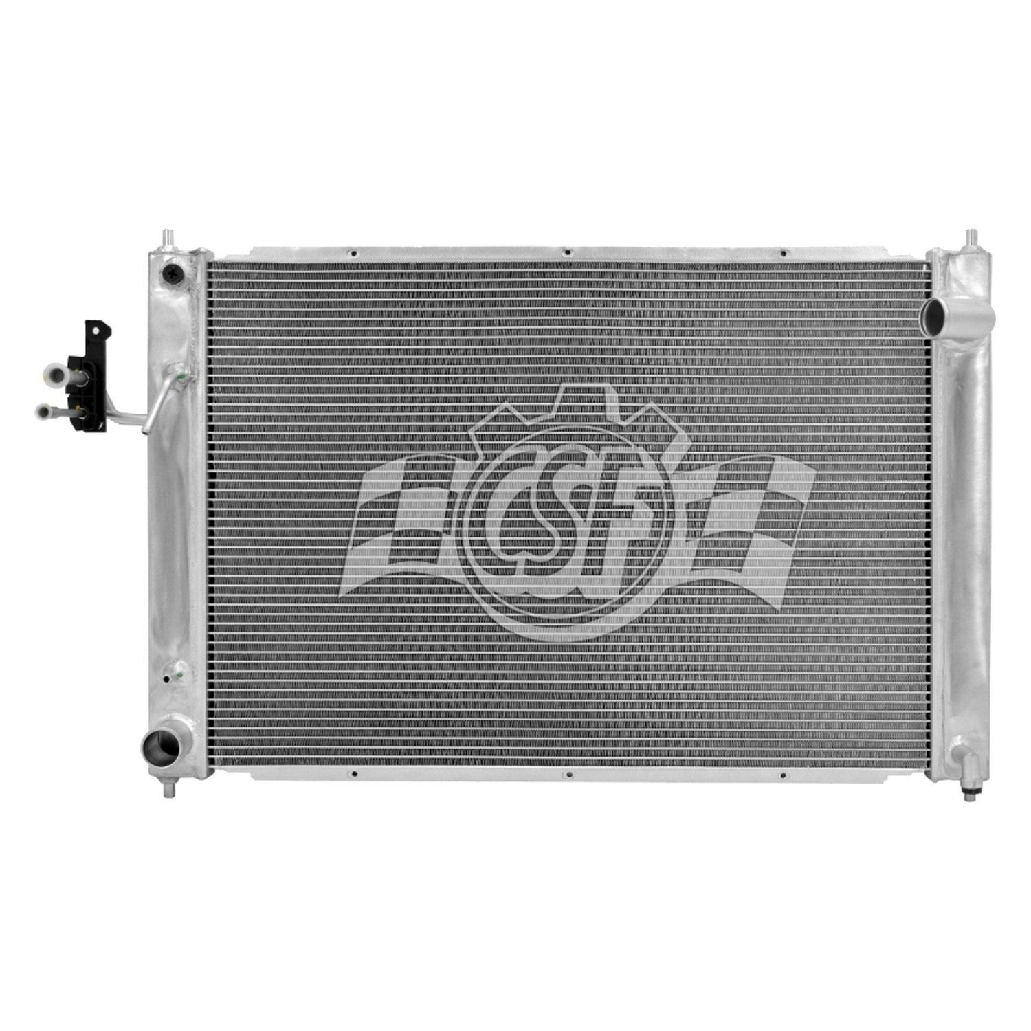CSF Aluminum Radiator & A/C Condenser, Auto or Manual Transmission AT/MT - Nissan 370Z / Infiniti G35 G37 Q40 Q60