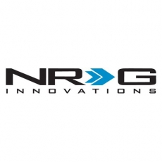 NRG Innovations PDL-250BK Brushed Black Aluminum Sport Pedal with Black Rubber Inserts at