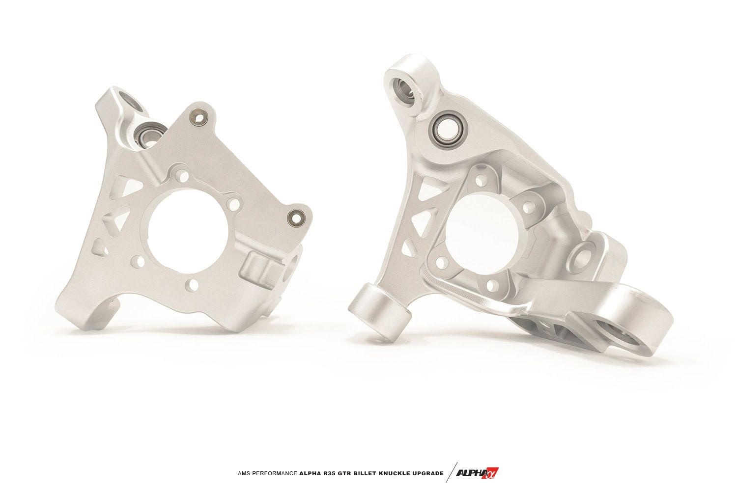 AMS Alpha Billet Knuckle Upgrade Kit - Nissan GT-R R35