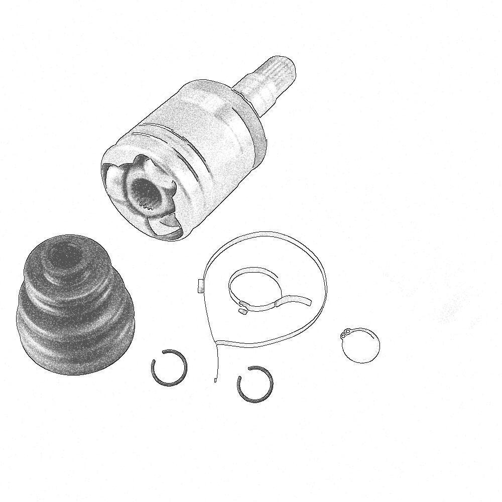 Details about  /For 1990-1994 Subaru Loyale CV Boot Kit Front Outer Dorman 22272HK 1991 1992