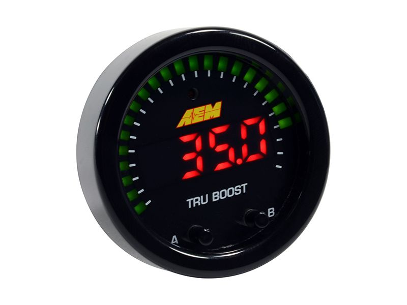 NEW: AEM Tru-BoostX Gauge-Type Boost Controller