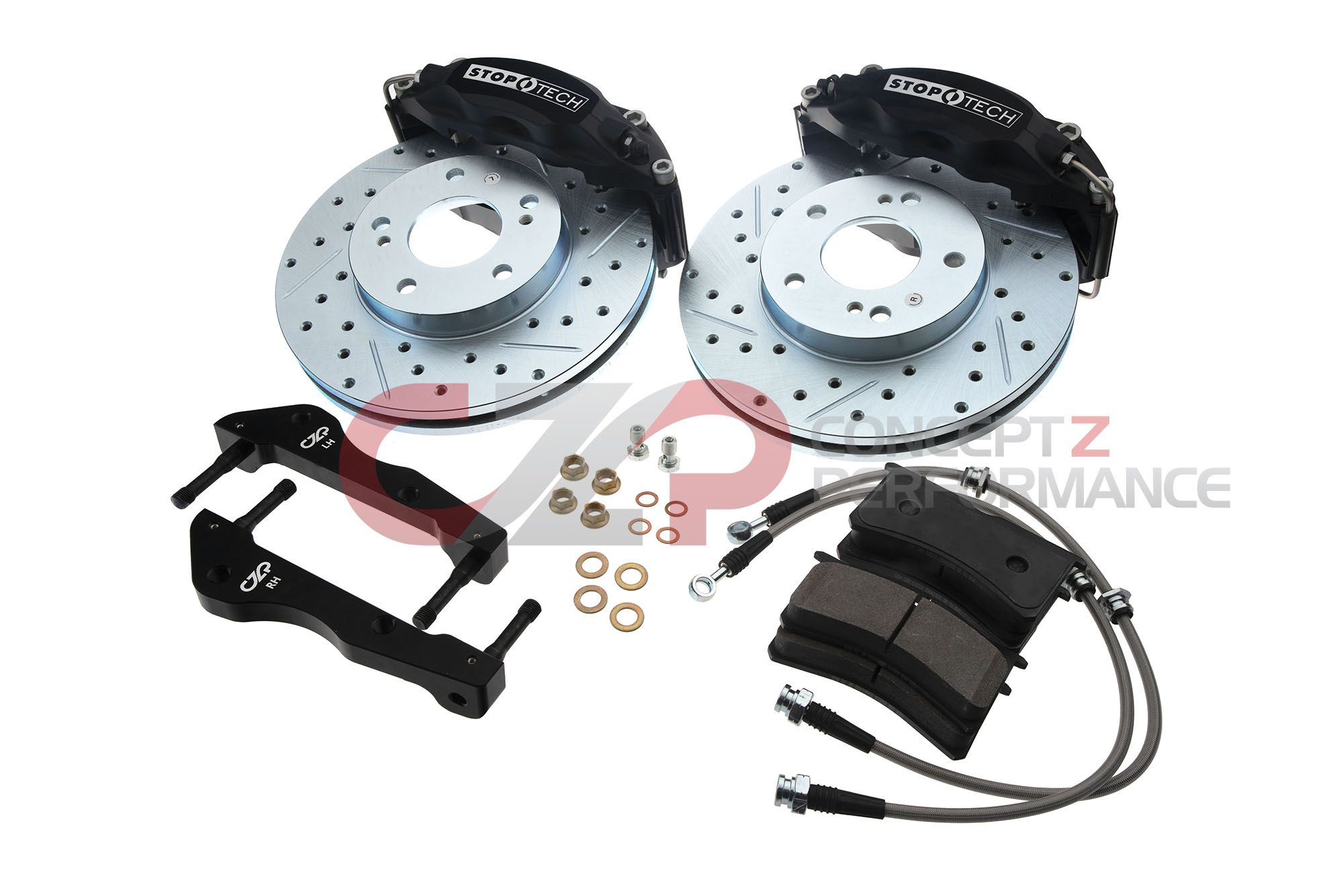 NEW: CZP Stoptech ST43 Front Caliper Upgrade Kit - Nissan 300ZX Z32