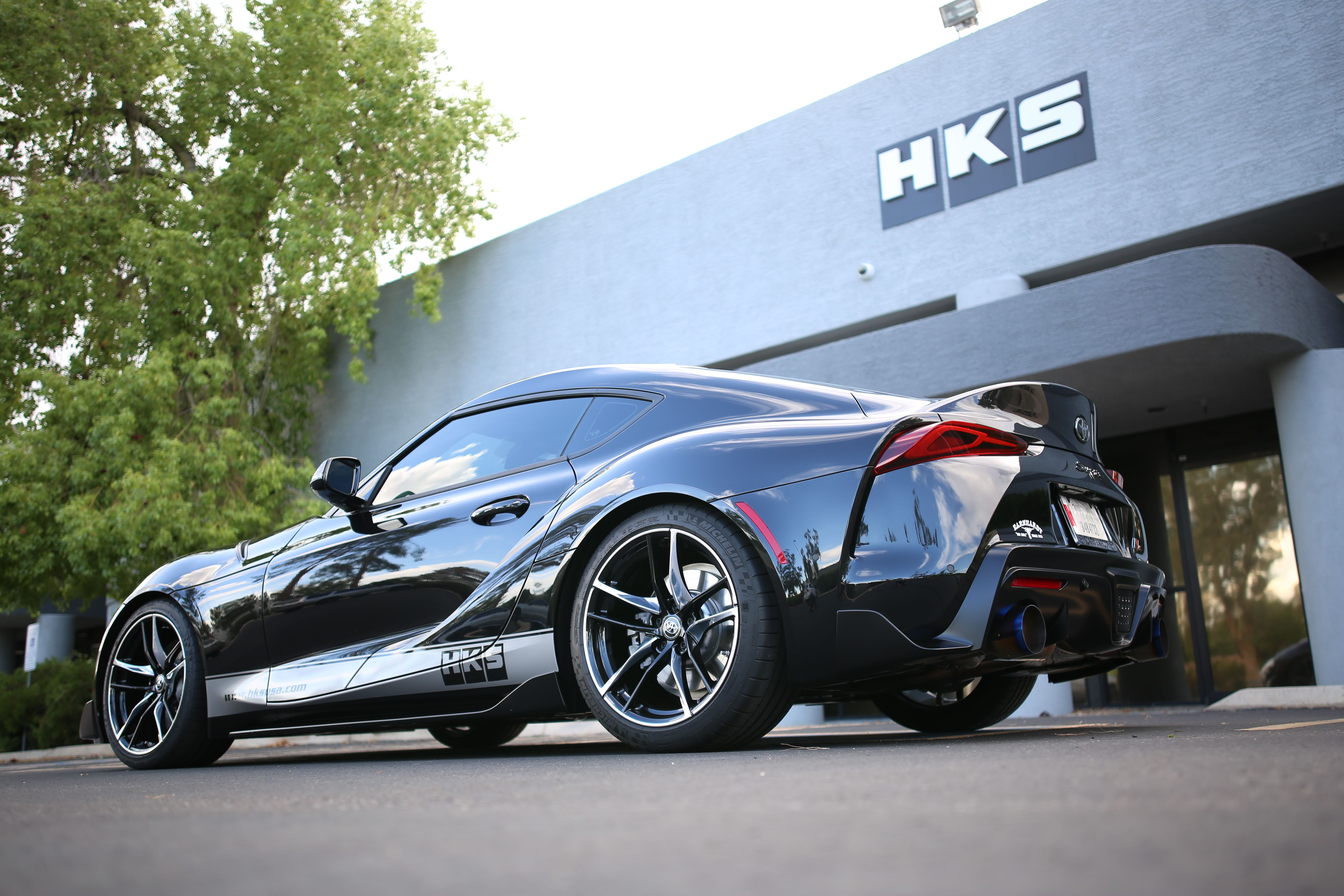 HKS Stainless Steel Cat-Back Exhaust System - Toyota Supra A90