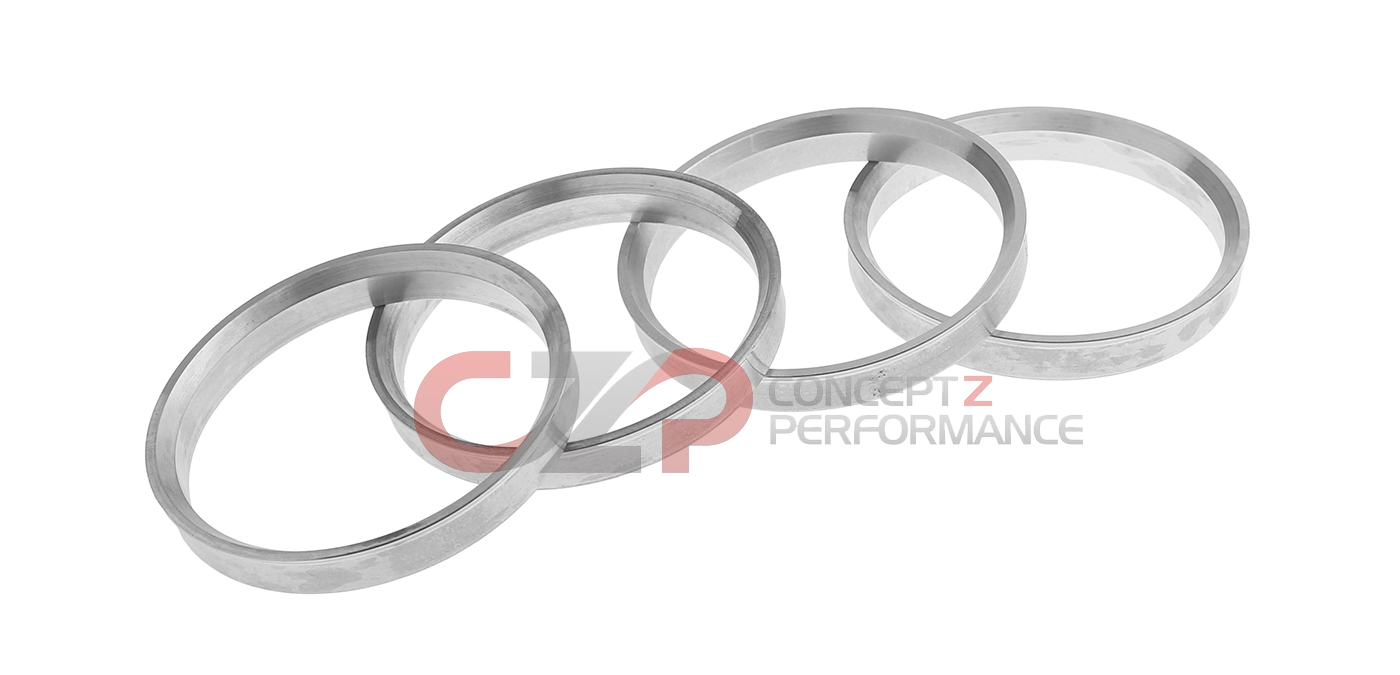 CZP Aluminum Hubcentric Ring Set - 72.6mm to 60.1mm
