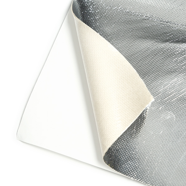 "Mishimoto Aluminum Silica Heat Barrier with Adhesive Backing, 24""x24"""
