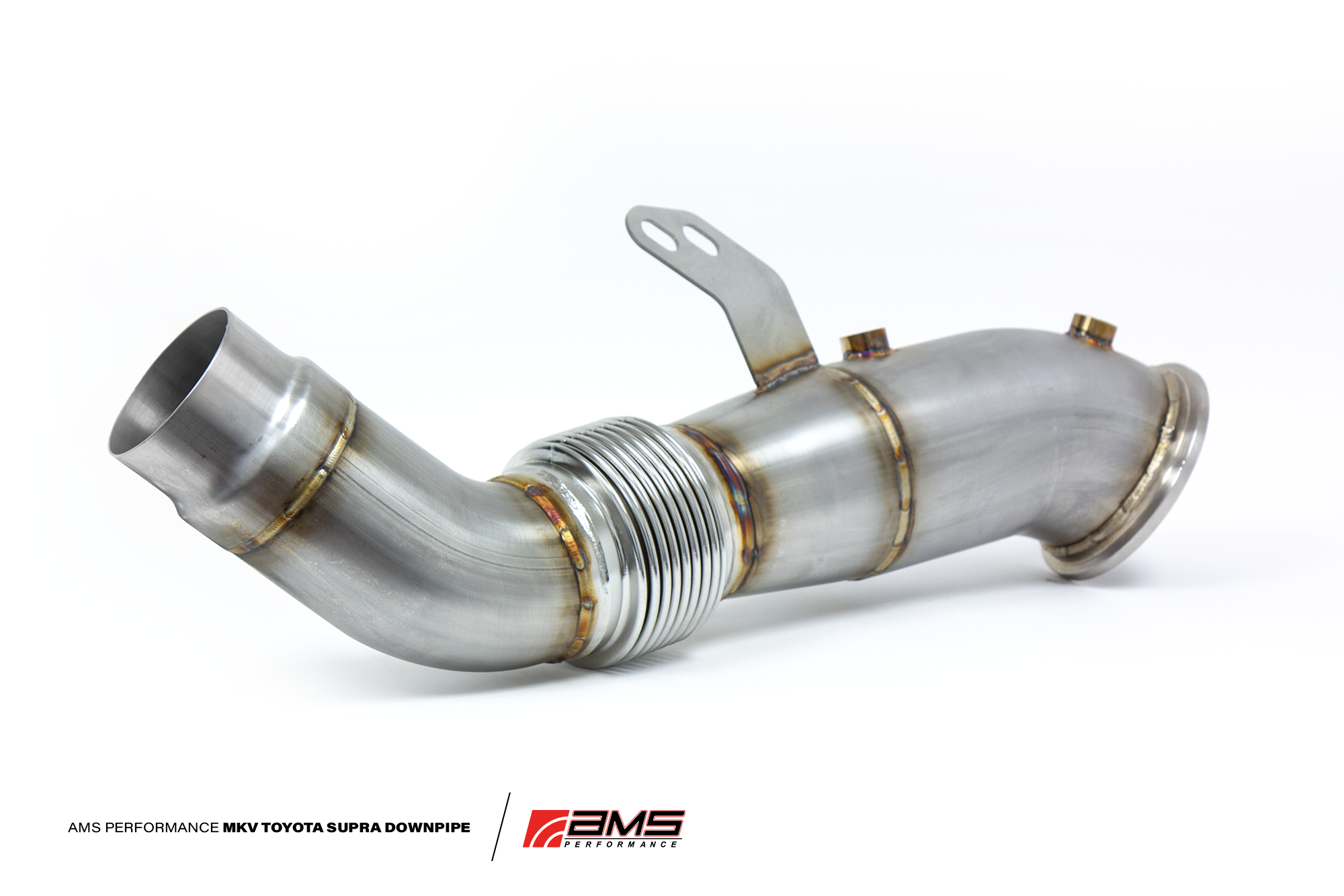 "AMS Performance Stainless Steel 4.5"" Downpipes - Toyota Supra A90"