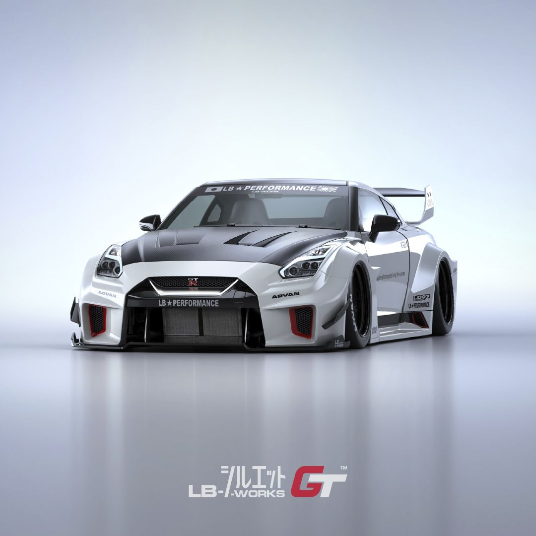 Liberty Walk LB Silhouette WORKS 35GT-RR Complete Body Kit - Nissan GT-R R35