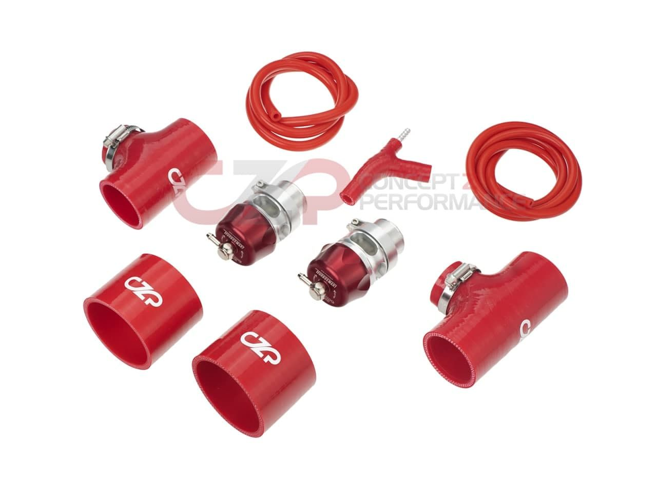 CZP Turbosmart Vee Port Pro Blow Off Valve Kit - Infiniti Q50 Q60 3.0T VR30DDTT **NEW Red Special Edition BOVs**