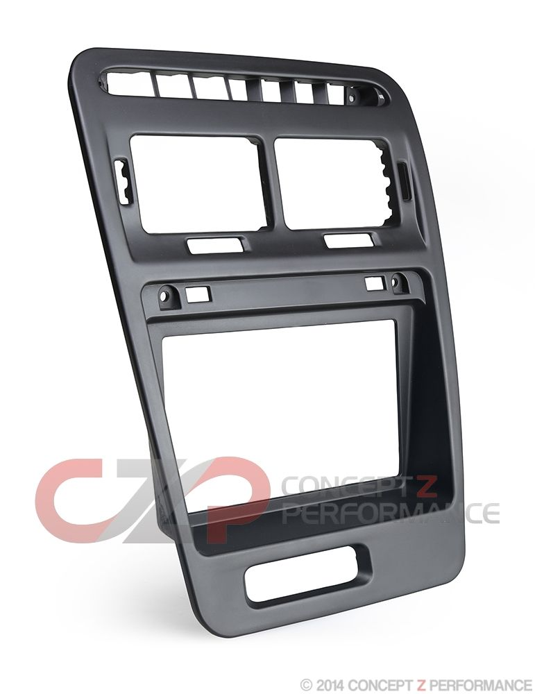 "Zspec Design ""Perfect Fit"" Double-Din Radio Bezel Kit, LHD - Nissan 300ZX Z32"