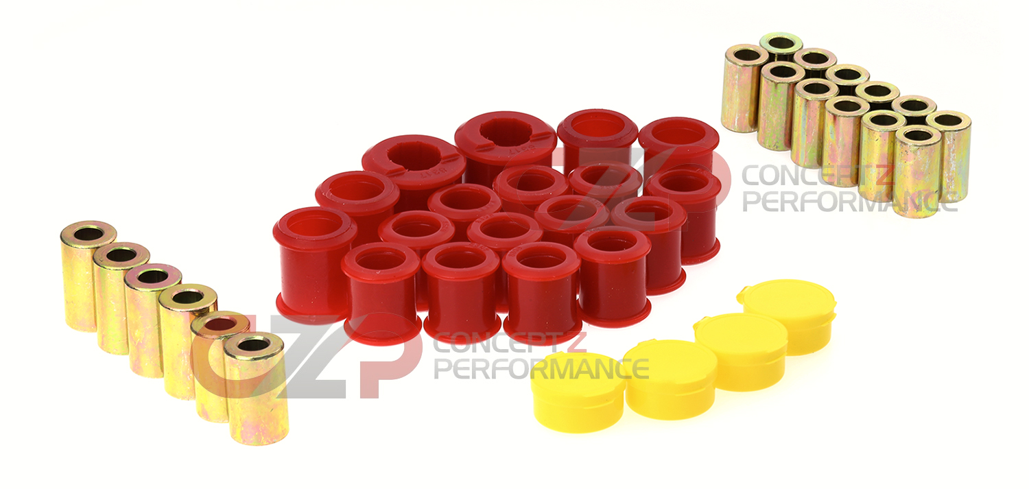 Energy Suspension Rear Control Arm & Spindle Bushing Set - Nissan 300ZX Z32