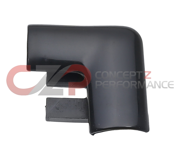 Nissan OEM Rear Hatch Window Outside Exterior Corner Molding Trim Finisher RH - Nissan 300ZX 90-96 Z32