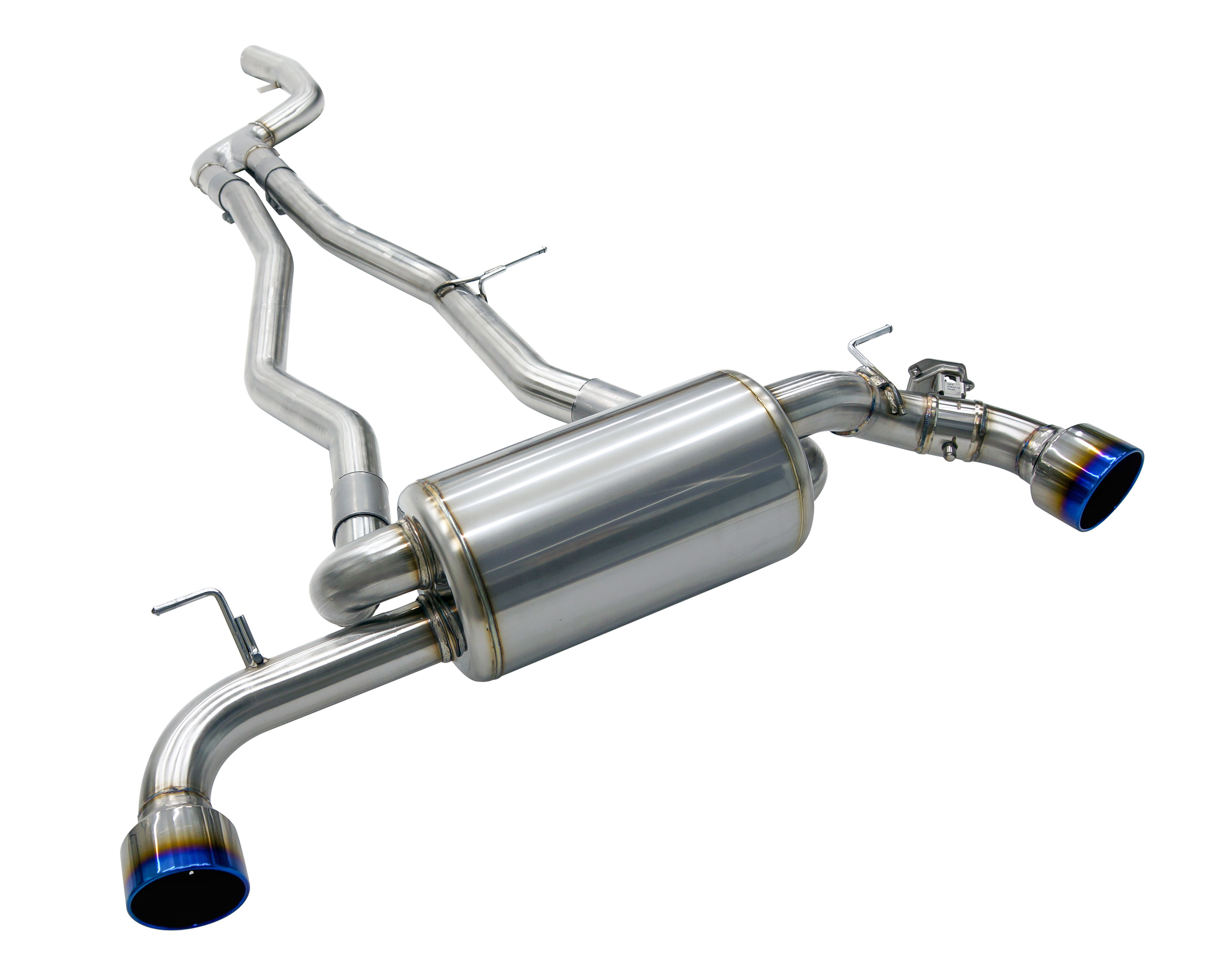 HKS Stainless Steel Super Turbo Muffler - Toyota Supra A90 B58