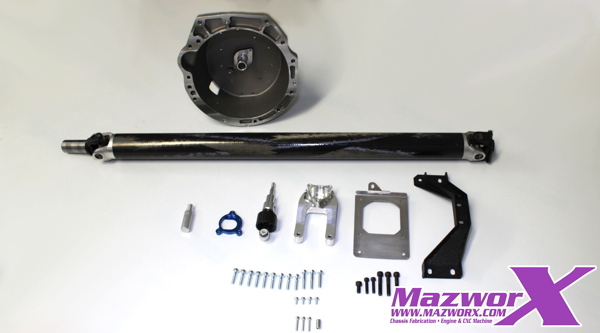 Mazworx SRVQ Adapter Kit For S-Chassis