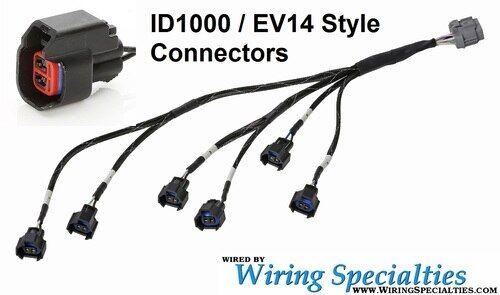 Wiring Specialties Injector Sub Harness for Injector Dynamics ID 725 850 1000 1050x 1300