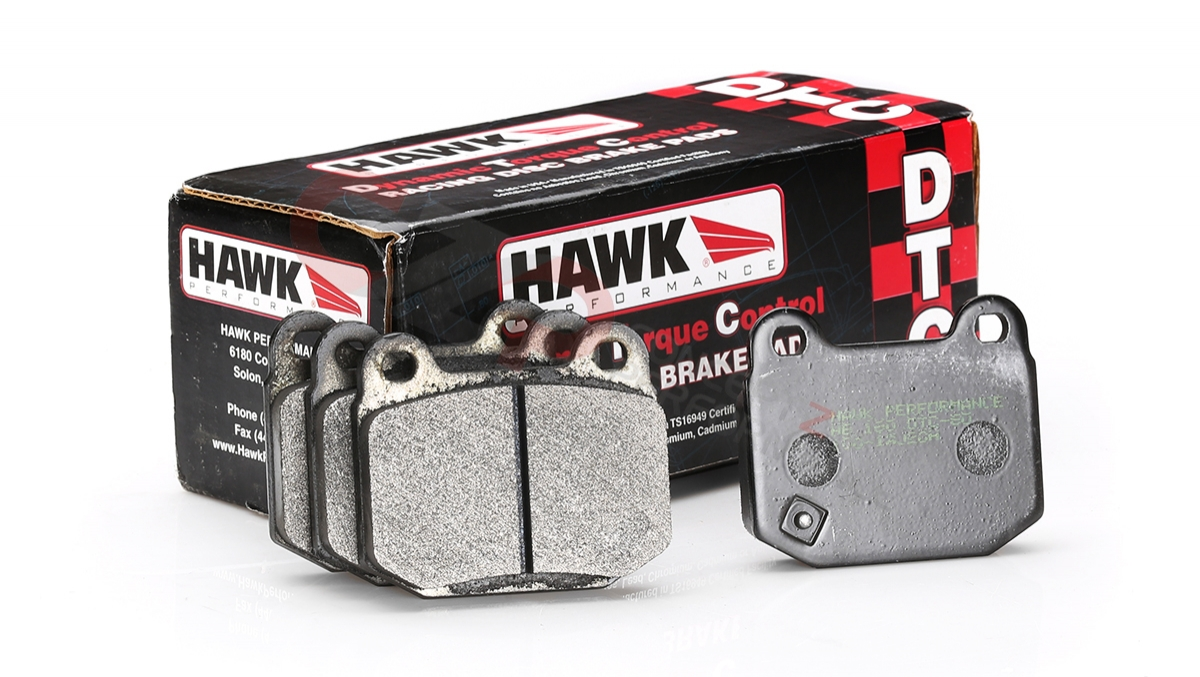 Hawk Performance DTC-30 Brake Pads, Rear w/ Brembo Calipers- Nissan 350Z / Infiniti G35
