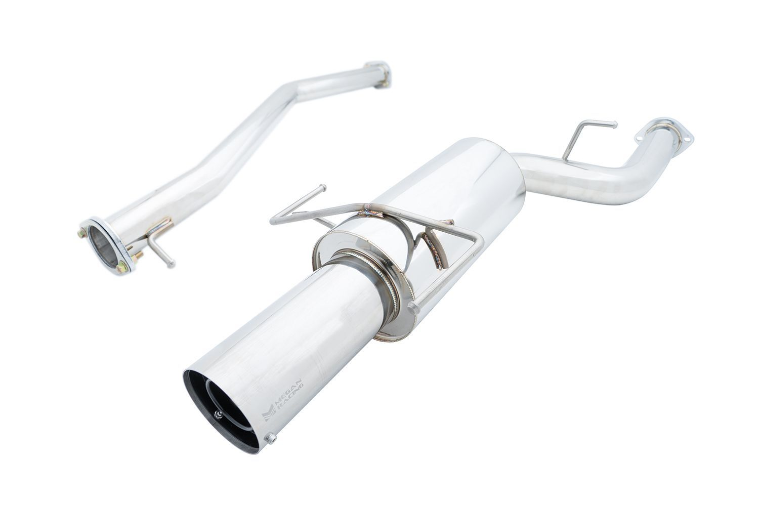 Megan Racing Turbo Type Cat-Back Exhaust System - Nissan 240SX SR20DET S14