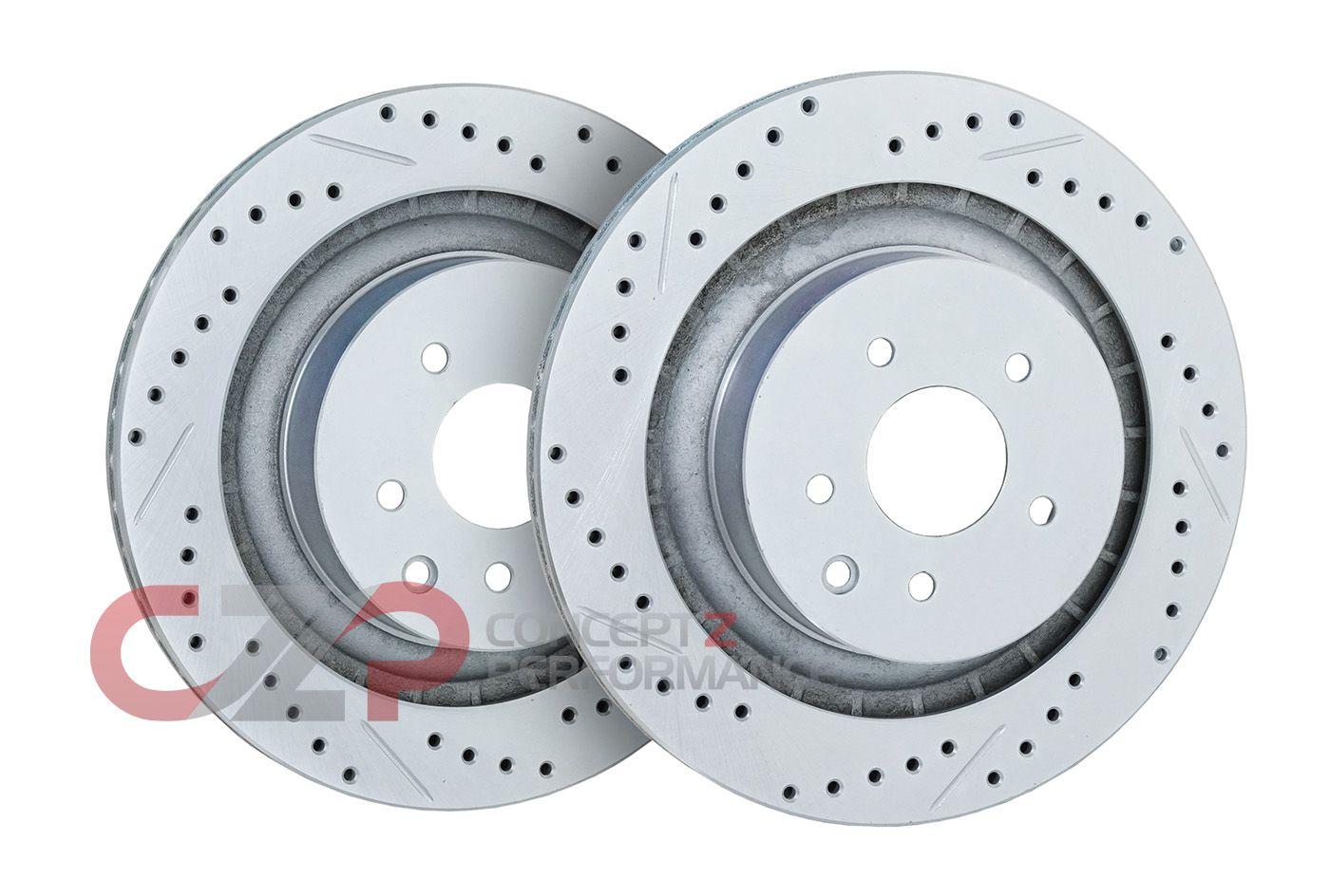 Front /& Rear Ceramic Brake Pads For Nissan Murano 350Z 370Z Infiniti EX FX G M Q
