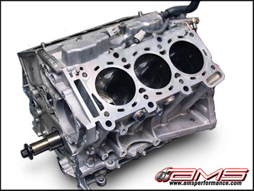 AMS Alpha 3.8L Race Short Block - Nissan GT-R R35