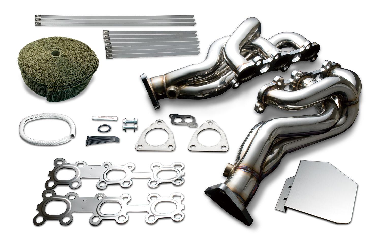 Z34 Exhaust System Manifolds Headers Concept Z Infiniti G37 Tomei Expreme Vq35de Vq35hr Vq37vhr Nissan 350z 370z G35 Q50