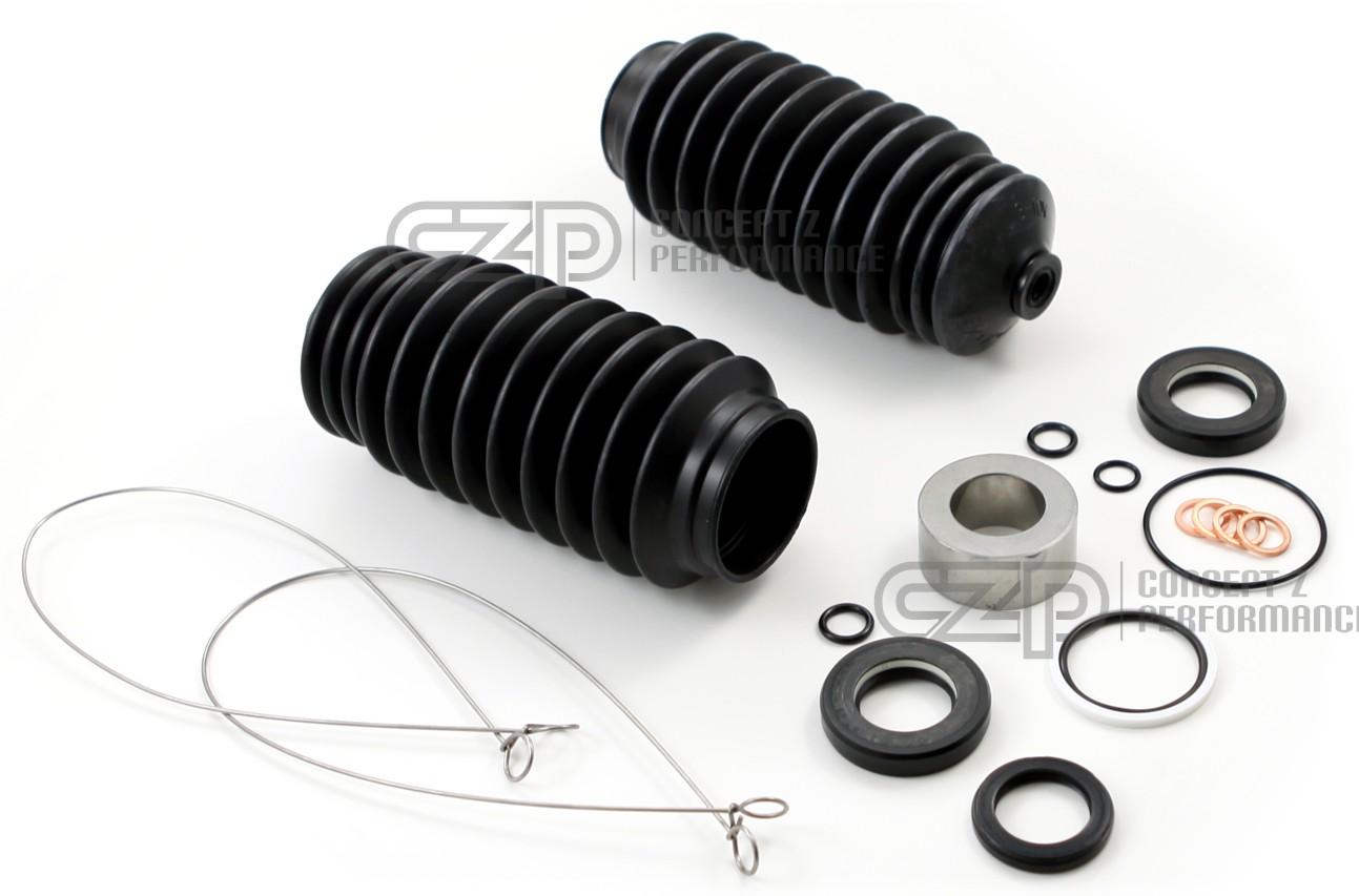 Nissan Oem 300zx Power Steering Rack Rebuild Kit W Boots Z32