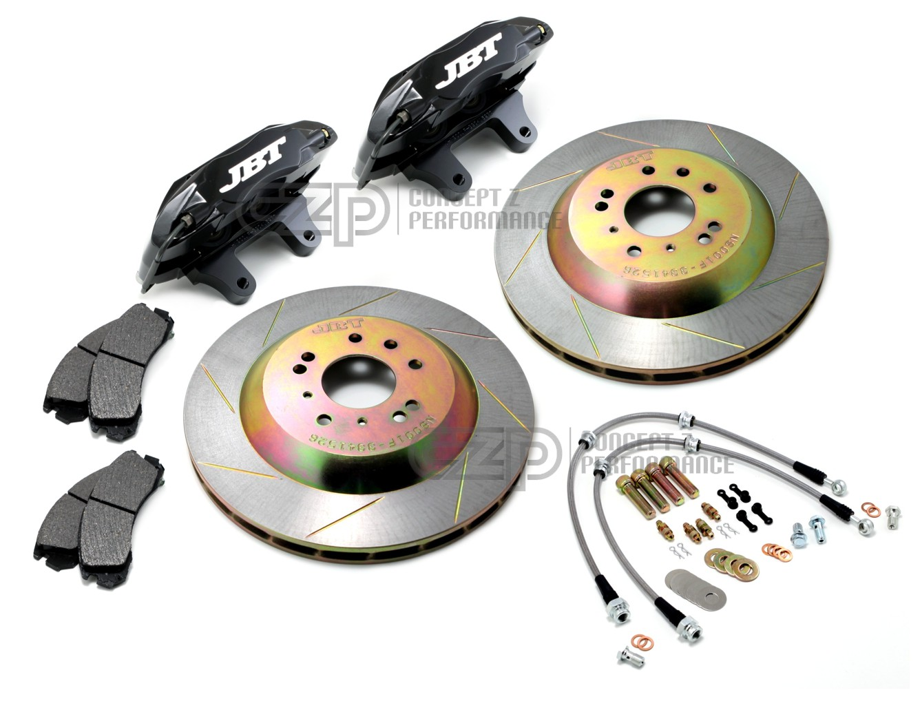 "JBT 13"" Front Big Brake Kit, Black - Nissan 240SX S13 S14, 300ZX Z32 - LAST SET!!!"