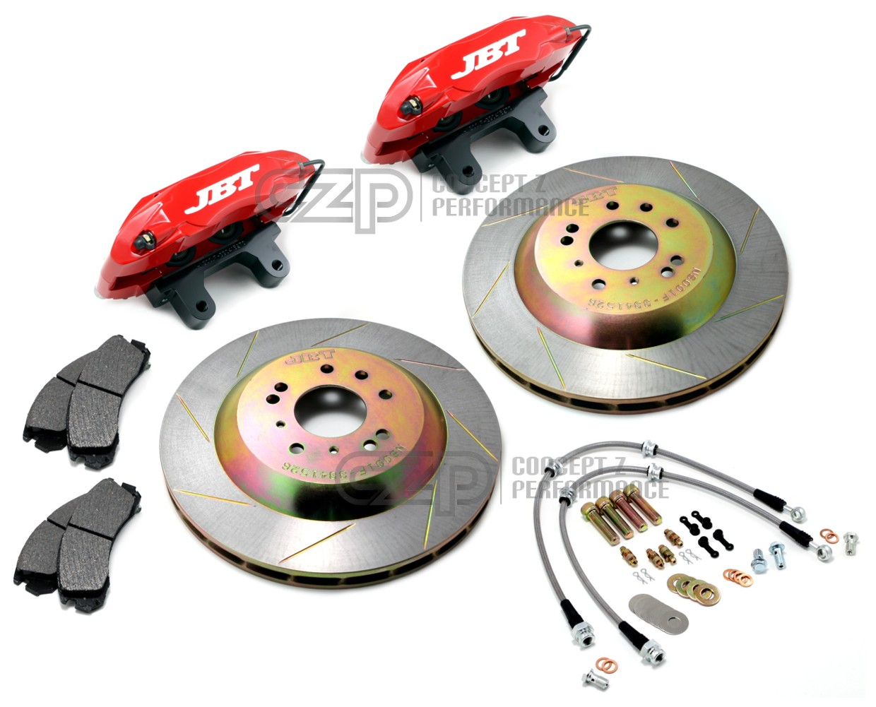 "JBT 13"" Front Big Brake Kit, Red - Nissan 240SX S13 S14, 300ZX Z32 - LAST SET!!!"