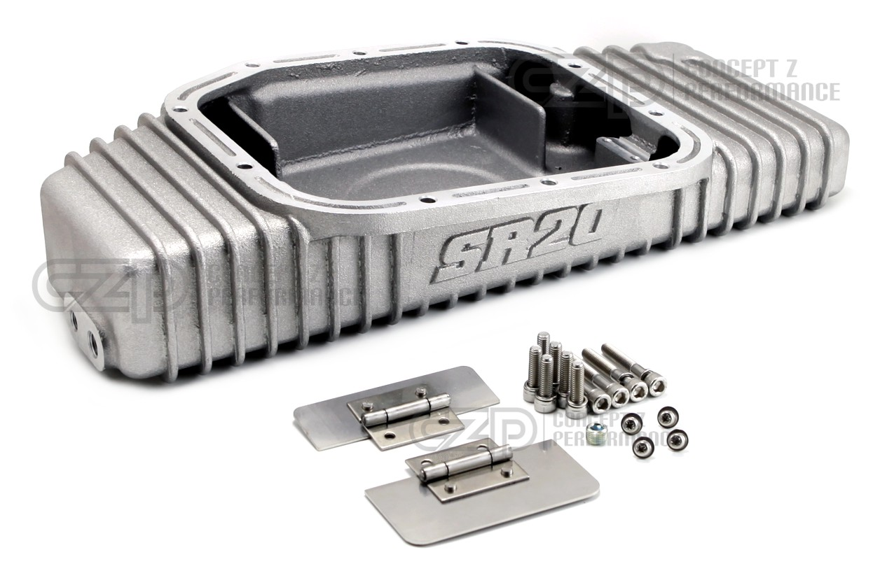 Greddy 13525901 240SX High Capacity Aluminum Oil Pan SR20DET - S13/S14 -  Concept Z Performance