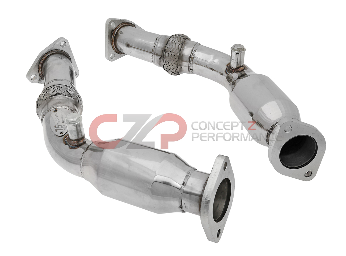 Top Speed Resonated Test Pipes, VQ35DE - Nissan 350Z / Infiniti G35