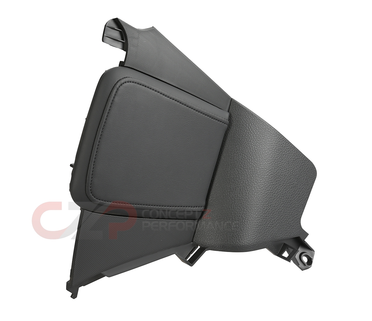 Nissan OEM 68135-CF42A Center Console Side Finisher w/ Knee Cushion, LH - Nissan 350Z 06-08 Z33
